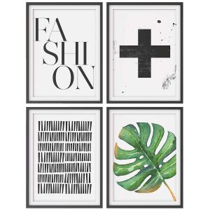 A Set Of Paintings In The Scandinavian Style 002
