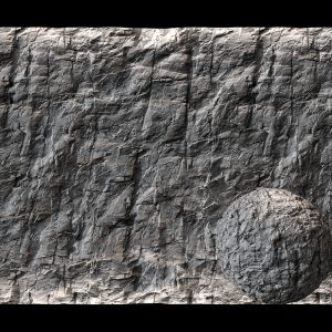 Stone Cliff Wall №8