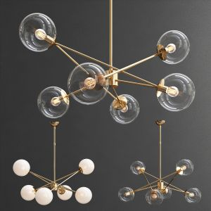Turenne Large Dynamic Chandelier Circalighting