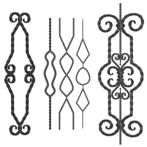 Wrought Iron Panel No.10