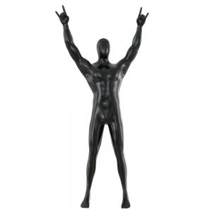 Male Abstract Mannequin Gesture With Hands Rock 93