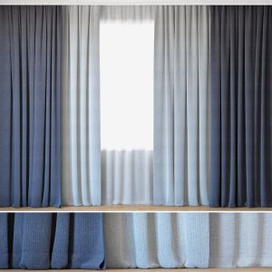 Curtains 45 | Curtains With Tulle | Backhausen