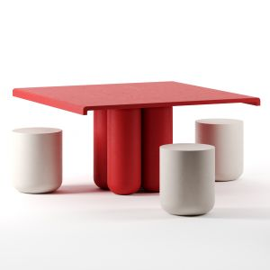 Giudecca Dining Table Square By Cimento