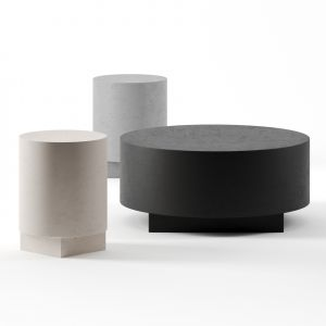 Tronchetto Coffee Tables By Cimento