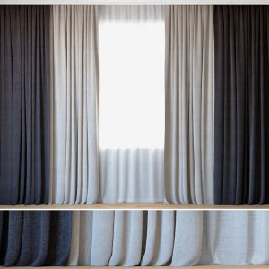 Curtains 65 | Curtains With Tulle | Grid Backhause