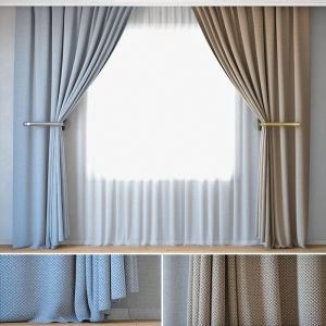 Curtains 17 | Curtains With Tulle | Rohi | Credo