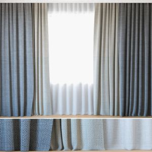 Curtains 90 | Curtains With Tulle | Rohi | Topia