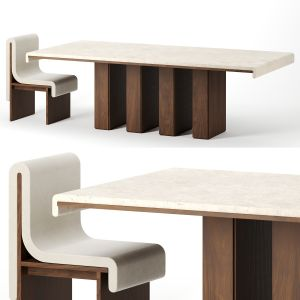 Melt Dining Table By Bower Studio