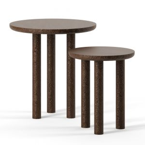 Rosae Side Tables By Collection Particuliere