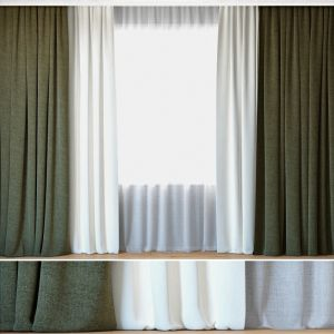 Curtains 52 | Curtains With Tulle | Kravet Smart