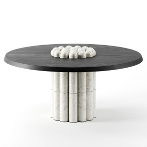 Raku-yaki Dining Table By Emmanuelle Simon