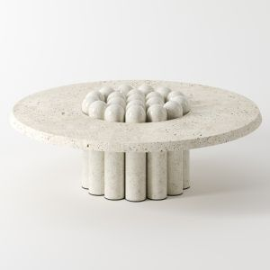 Raku-yaki Coffee Table By Emmanuelle Simon