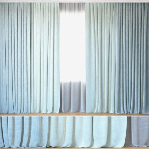 Curtains 04 | Curtains With Tulle | Linum