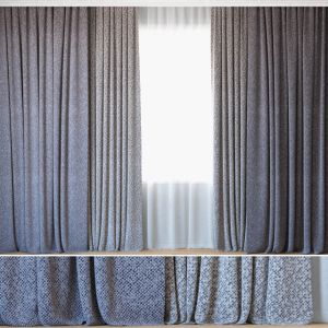 Curtains 76 | Curtains With Tulle | Rohi | Mica