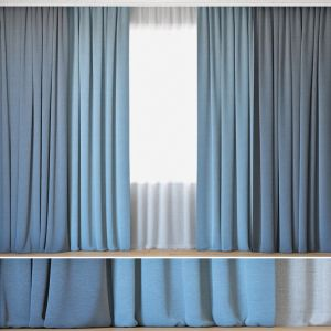 Curtains 53 | Curtains With Tulle | Backhausen Art