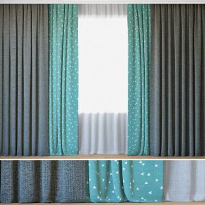 Curtains 25 | Curtains With Tulle | Sunrough