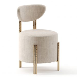 Melange Vanity Stool By Kelly Wearstler