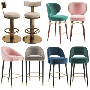 Bar Stool Chair  collection 01