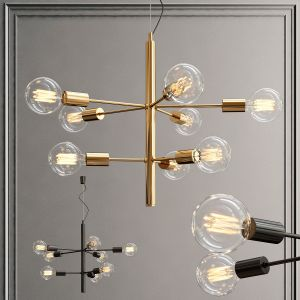 Taklampe Galaxy Chandelier