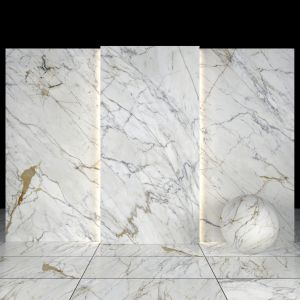 Golden White Marble