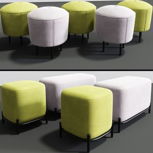Ottoman Pouf Collection