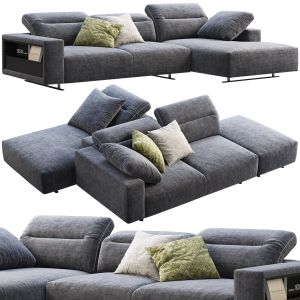 Boconcept Hampton Chaise Lounge Fabric Sofas