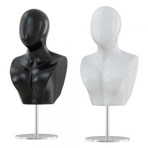 Male Abstract Mannequin Bust 108
