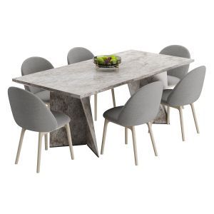 Table And Apples Set