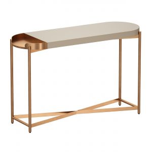 Laurie White Console Table
