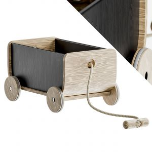 Wagon Pull Toy By Plan Toys