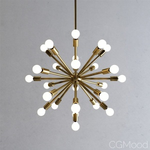 Sputnik Chandelier No. 1