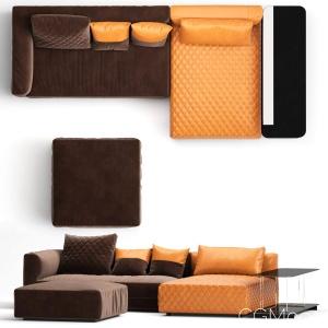 Melpot Sofas By Natuzzi 02