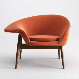 "Hans Olsen ""fried Egg"" Lounge Chair"