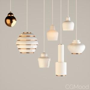 Artek Pendant Lamps - Alvar Aalto Collection