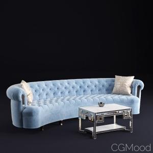 Rebecca Mirrored Sofa