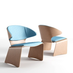 Hans Olsen Teak Bikini Lounge Chair