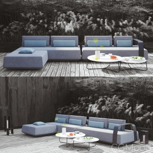 Kumo Sofa And Mood Table