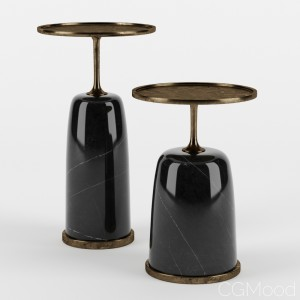 Altai Side Table By Elan Atelier