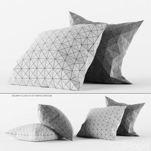 Origami Pillows By Arturbane