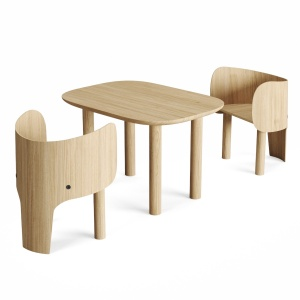 Marc Venot Elephant Chair And Table