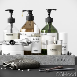Meraki Bathroom Set 04
