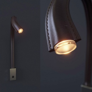 Sconce For Reading Flexiled From Contardi