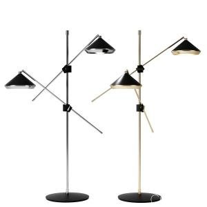 Shear Floor Lamp By Bert Frank