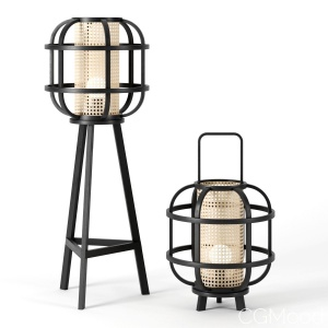 Cane Hurricane Lamps By Cane Collection