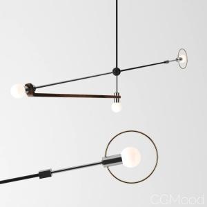 Jean Pascal Gauthier Calder Inspired Artistic Lamp