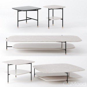 Adrian Tables By Meridiani, Square