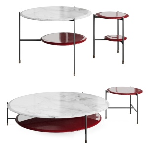 Adrian Tables By Meridiani, Round