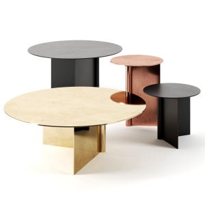 Os Tables By Atelier De Troupe