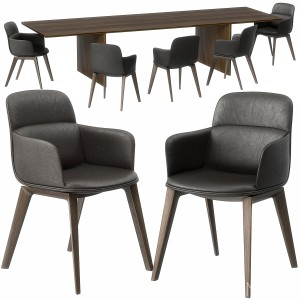 Ava Table Barbican Chair Set