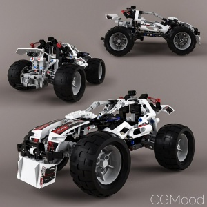Lego Technic 8262 Quad-bike Alternative Model